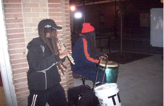 Willy and Haneef: Street Musicians