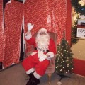 Santa Claus at Holidays on Ludlow