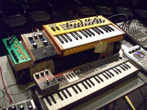 Guilherme Granado's keyboard setup the last time he played Cincinati - we'll see what he brings this time